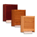 Wooden Paper Towel Holders