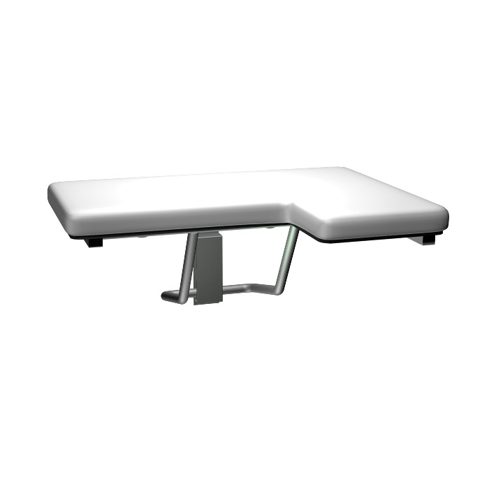 ASI 8205-R Padded Folding Shower Seat - Right Seat #ASI-8205
