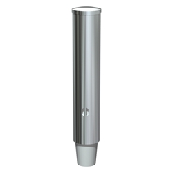 ASI 0002-SM Round Stainless Steel Cup Dispenser