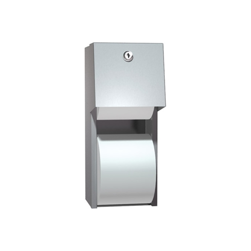 Asi 0030 Surface Mounted Dual Roll Toilet Tissue Dispenser