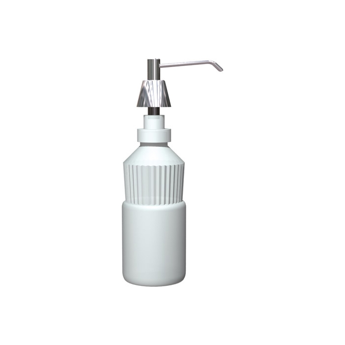 "ASI 0332-C Lavatory Mounted Soap Dispenser 4"" Spout 20 oz. Capacity"