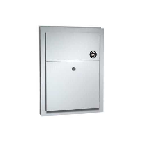 Partition Mounted Napkin Disposal