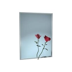 Stainless Steel Frame Mirror