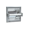 ASI 7402-SD Satin Stainless Steel Recessed Toilet Paper Holder for Drywall