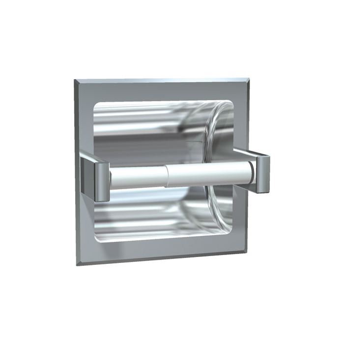 ASI 7402-SD Satin Stainless Steel Recessed Toilet Paper Holder for ...