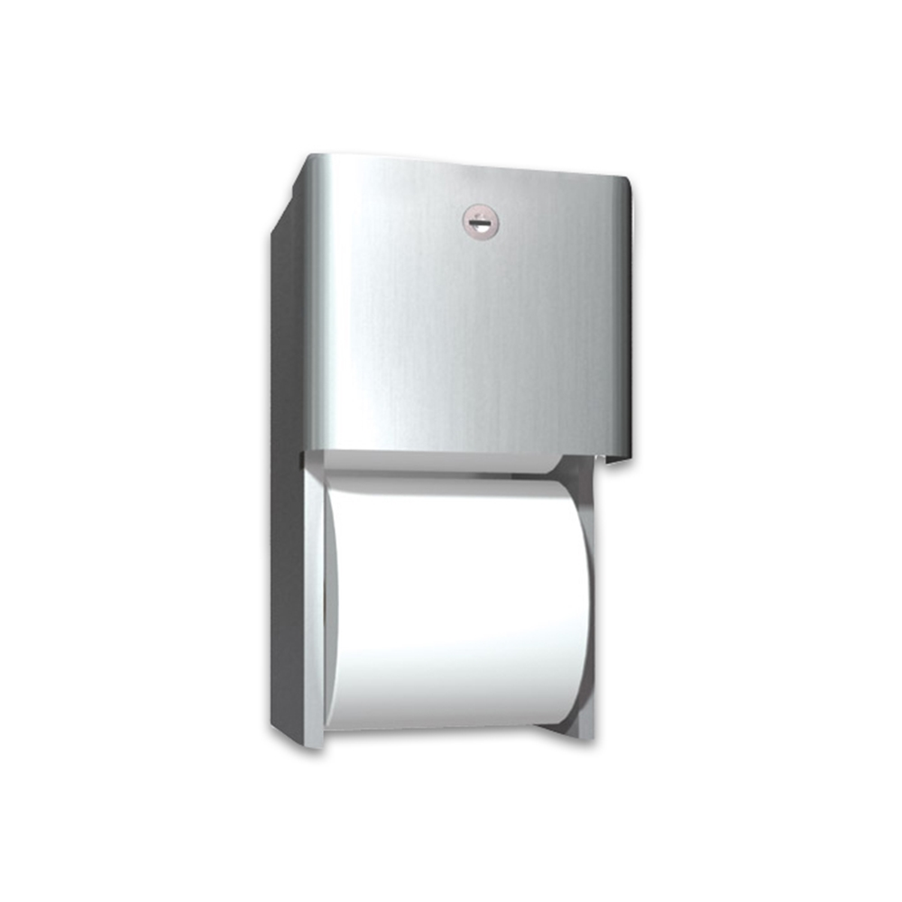 Asi 9030 Surface Mounted Dual Roll Toilet Tissue Dispenser