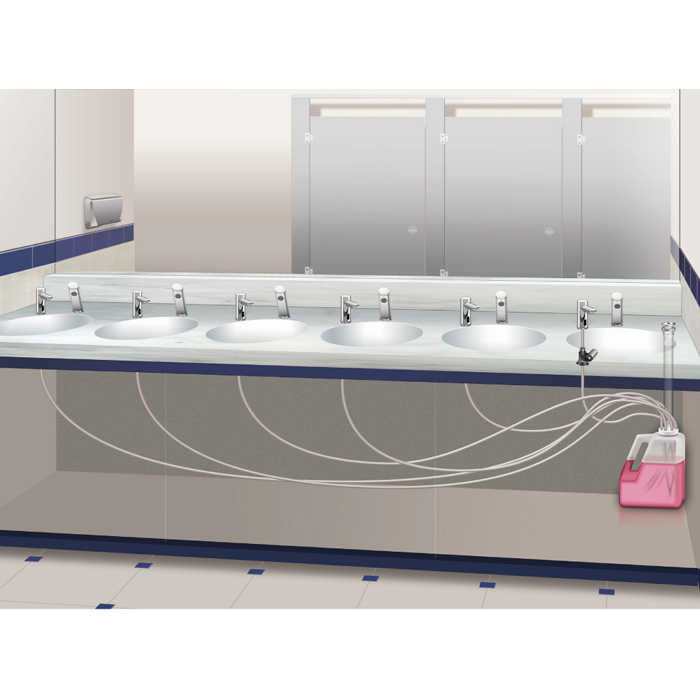 Asi 10 0390 1a Ez Fill Soap Dispensing System Top Fill
