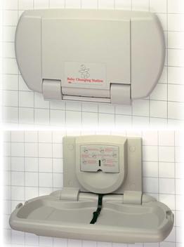Asi 9012 Baby Changing Station