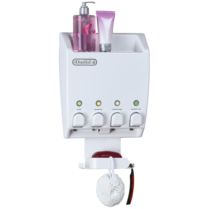 Better Living Products Classic IV Dispenser™ - Shower Caddy White ...