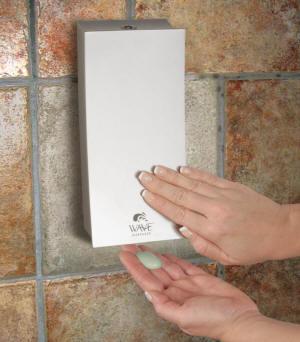 Wave Soap Dispenser Satin Nickel 74133 Bl 74133