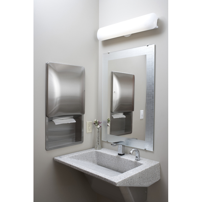 Bradley 747f frosted frameless mirror various sizes br for Bradley mirror