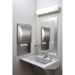 Frosted Frameless Mirror