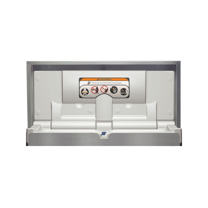 Bradley 962 Baby Changing Station Stainless Steel Br 962