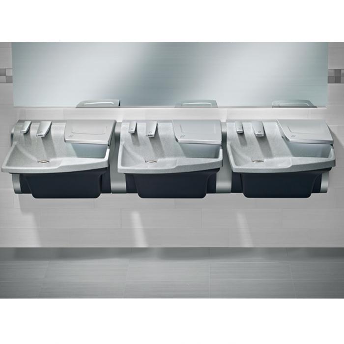 Bradley Av90 Advocate Soap Sink And Dryer All In One Br Av90