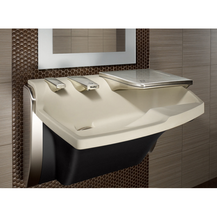 Bradley Av30 Advocate Soap Sink And Dryer All In One Br Av30