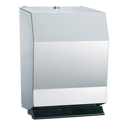 Bradley Towel Dispenser 2482-11 bradley 2494, bradley automatic paper towel dispenser