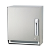 Bradley 2483 Paper Towel Dispenser, Stainless Steel, Lever Operated, Roll Paper