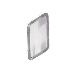 Security-Framed Wall Mirror - Model SA06 - Front Mounted