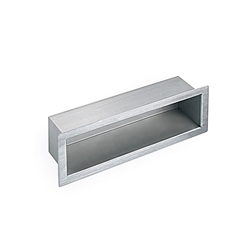 Security-Recessed Shelf  - Chase Mounted