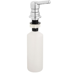 "Bradley Frequency® Lav-Mounted Soap Dispenser 3-1/2"" Spout- Model 6334"