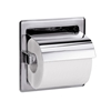 Model 5103 - Recessed- Single Roll with Hood