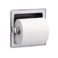 Model 5105 - Recessed - Single Roll and Spare Roll