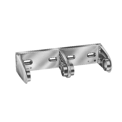 Surface Mounted - Double Roll Chrome Plated