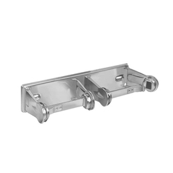 Surface Mounted -Double Roll Chrome Plated Steel