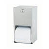 Bradley 5402 Surface Mounted Dual Roll Toilet Tissue Holder