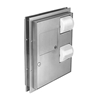 Combination Unit - Model 594 - Partition Mounted