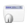 Sensor Operated Surface Mounted High Speed Hand Dryer 2869-280000 Drying time of 15 seconds or less, Cuts normal drying time in half, Offers a you call savings versus paper towels.