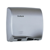 Bradely 2902-2874 Aerix™ Satin Stainless Steel Variable Speed Warm Air Hand Dryer Adjustable speed warm air hand dryer, Surface-mounted, ADA Compliant