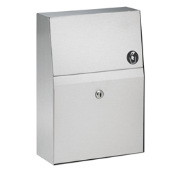Bradley 4722-15 Napkin Disposal Surface Mounted
