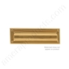 "Brass Accents 3"" x 10""  Mail Slot - Polished Brass"