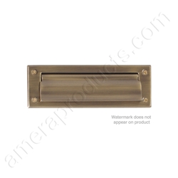 Brass Accents Letter Size Mail Slot
