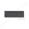 "Brass Accents 3"" x 10"" Mail Slot - Oil Rubbed Bronze"