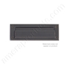 "Brass Accents 3"" x 10"" Mail Slot - Venetian Oil Rubbed Bronze"