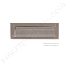 "Brass Accents 3"" x 10""  Mail Slot - Satin Nickel"