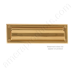 Brass Accents Magazine Size Mail Slot