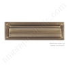 "Brass Accents 3.625"" x 13"" Mail Slot - Antique Brass"