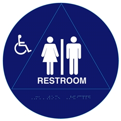 Handicap Unisex Restroom Sign