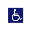 Handicap Logo Decal