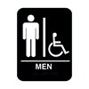 Men%27s Handicap Restroom Sign
