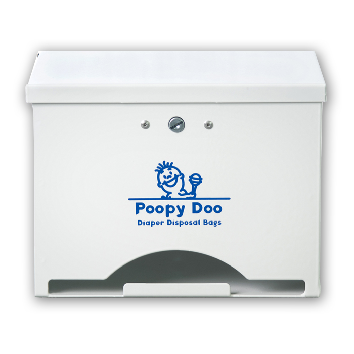 Poopy Doo 174 Diaper Disposal Bag Dispenser Pd Dsp 06 Wh Cp