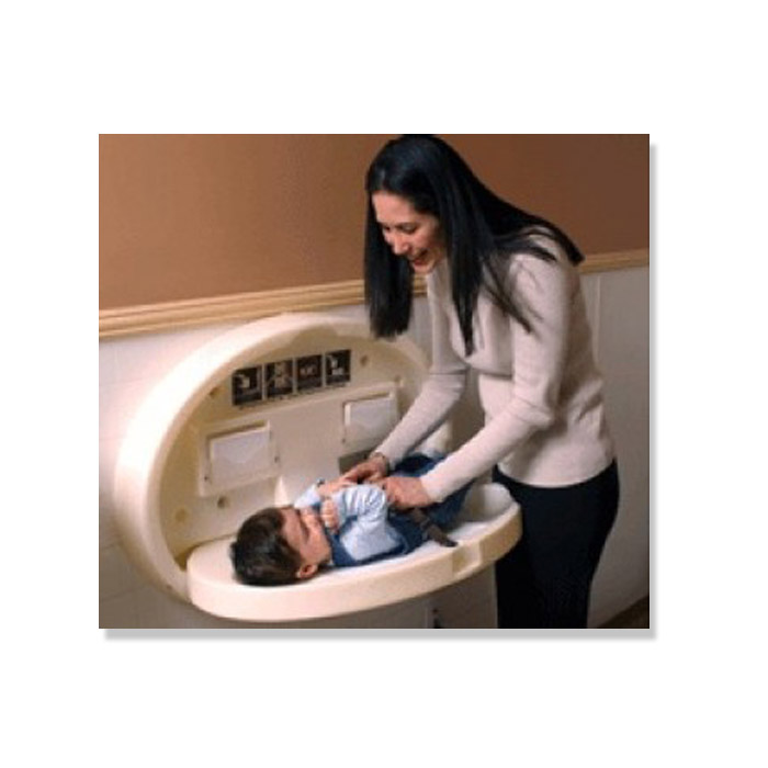 Diaper Depot 4300 Oval Baby Changing Station By Ssc Inc