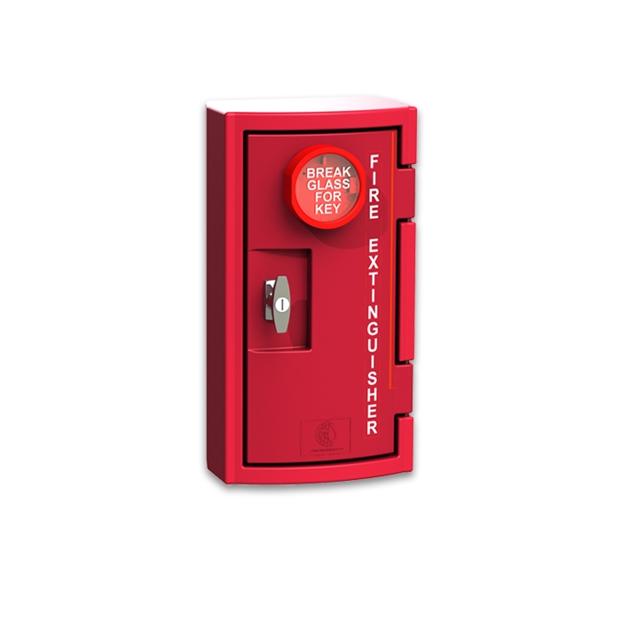 Fsp Cfe250rl 5 Lbs Plastic Fire Extinguisher Cabinet With
