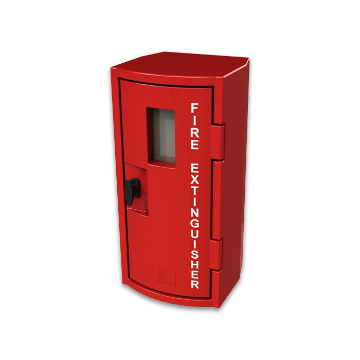 fsp cfe450 10 lbs plastic fire cabinet