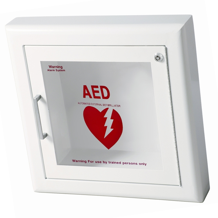 Exceptionnel Semi Recessed   AED Cabinet ...