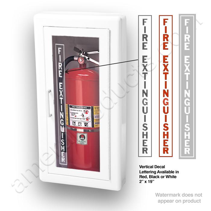 JL Ambassador F SemiRecessed Lbs Fire Extinguisher - Semi recessed fire extinguisher cabinet