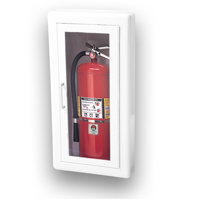 JL Ambassador 1017F10 Semi-Recessed 10 lbs. Fire Extinguisher ...